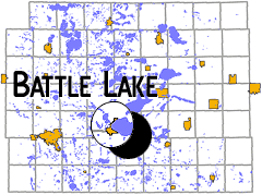 Battle Lake Map