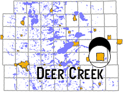 map - Deer Creek, MN