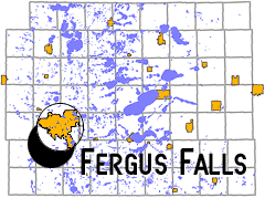 map - Fergus Falls, MN