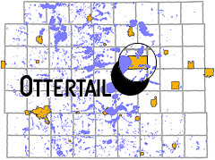 map - City of Ottertail, MN