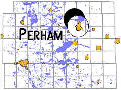 map - Perham, MN