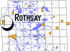 map - Rothsay, MN