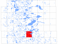 Clitherall Township in Otter Tail County, Minnesota