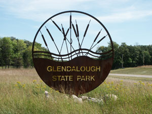 Glendalough State Park in Otter Tail County Minnesota