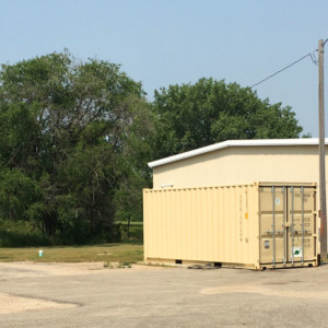 Parkers Prairie Transfer Station locatied at the County Garage