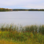 Lake Adley in Parkers Prairie Township