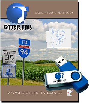 Otter Tail County Minnesota Plat Book
