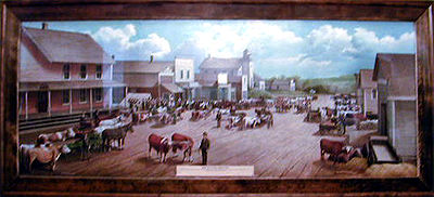 Market Day in Pelican Rapids -1882