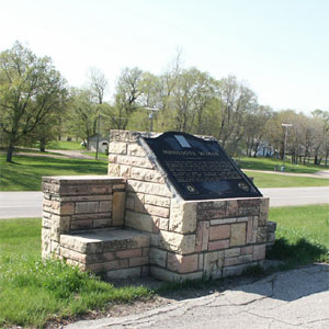 Minnesota Woman Monument near pelican rapids minnesota in Otter Tail County, MN