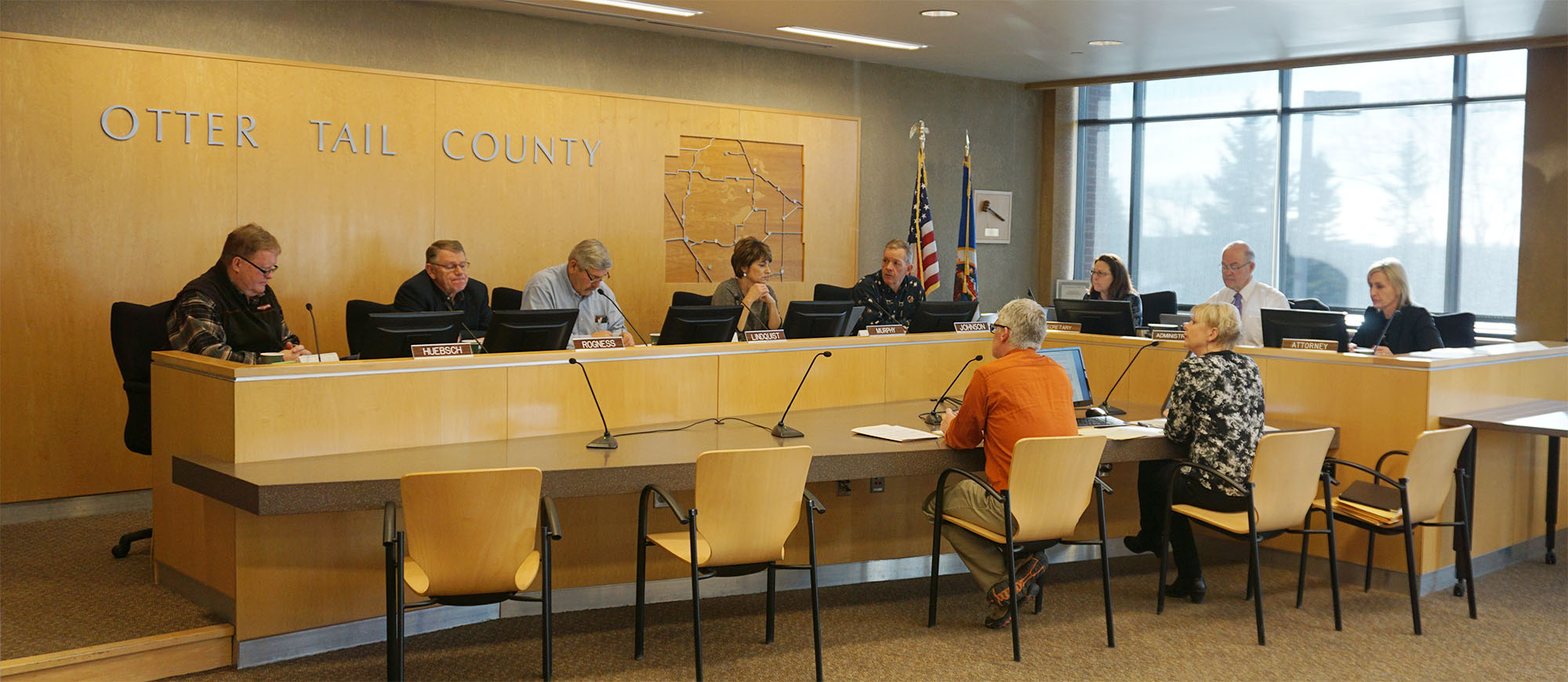 2019 Otter Tail County, MN Board of Commissioners