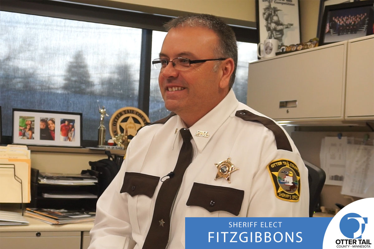 Otter Tail County Sheriff Barry Fitzgibbons