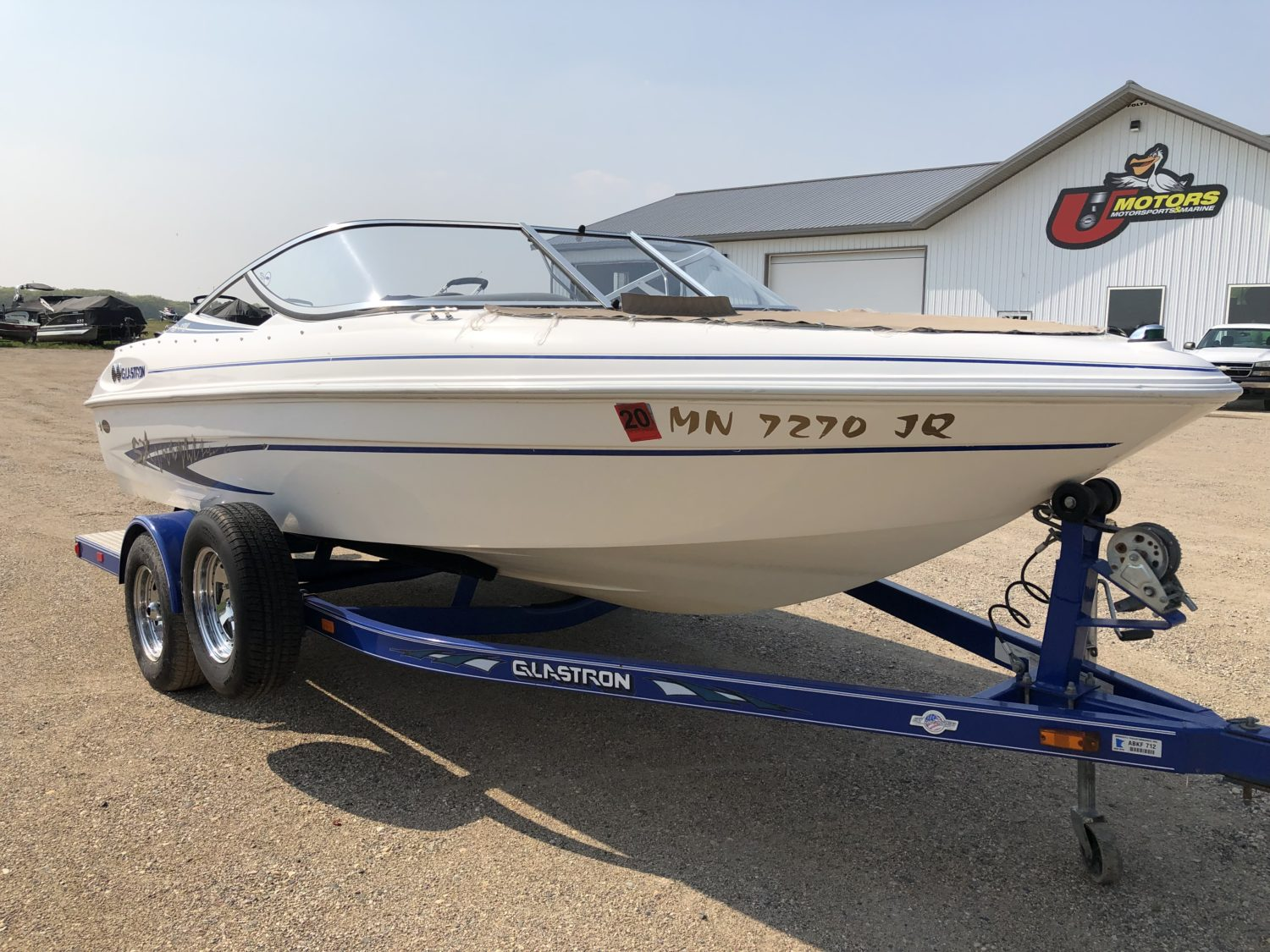 Seen this boat? Please Contact 218-998-8555